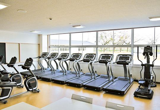 トレーニングルーム(有酸素エリア)